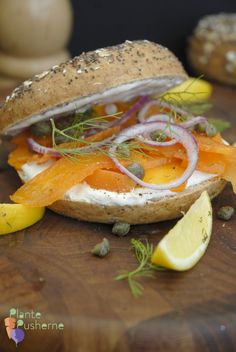 Vegan Carrot Lox - salt cured and omega 3 marinated Veg Recipes, Plant Based Recipes, Lox And Bagels, Vegan Fish, Fish And Meat, Sandwiches, Vegetable Side Dishes, Thing 1, Vegans