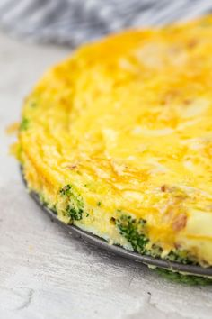 Low Carb Ham and Cheese Crustless Quiche - Easy Peasy Meals  Füd ham and cheese crustless quiche