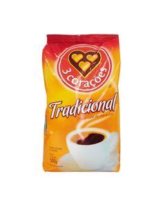 Café Torrado e Moído 3 Corações Tradicional pct. 500G. — Minha Mercearia em Casa