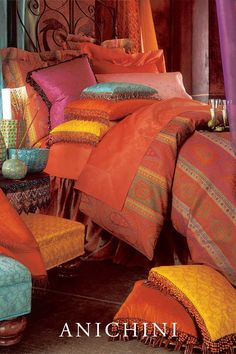 Taj Paisley Jacquard Sheets - Our Signature Paisley Bedding Paisley Sheets, Paisley Bedding, Luxury Sheets, Luxury Bedding, Paisley Design, Paisley Pattern, Bedroom Bed, Bedroom Decor, Bright Bedding