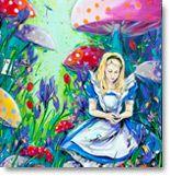 Alice in Wonderland Painting Collage, Paintings, Girls Series, Art For Art Sake, Australian Artists, Figurative, Acrylics, Alice In Wonderland, My Favorite Things