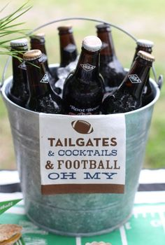 It's never too early to start thinking about planning the first tailgate party of the football season!