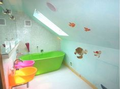 Colorful and Fun Kids Bathroom Ideas - Home and Garden Design Ideas