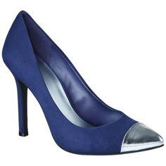 Women's Mossimo® Viveca Blingy Heel - Navy Target $33