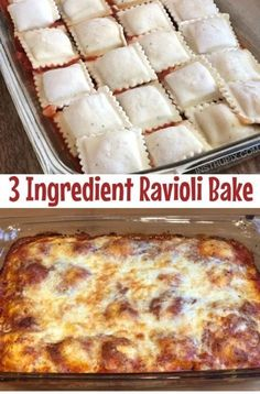 this EASY RAVIOLI BAKE RECIPE is so yumm!!  Just CLICK THE LINK  to SEE THE COMPLETE RECIPES  and step by step instruction