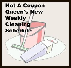 New Cleaning Schedule
