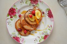 Lemon And Ginger לימון וג'ינג'ר: בלוג אוכל ישראלי: פנקייק בננה - מנה מפנקת במיוחד
