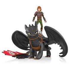 2014 Hiccup and Toothless..With Vikings and dragons living side-by-side-on land and in the air--Things are pretty serene on the island of Berk in How to Train Your Dragon 2.  but when a teen-aged Hiccup and Toothless the dragon take to the skies to explore faraway lands, the best friends discover not only new species of dragons but a fearsome new threat to Berk's peace in the mysterious Dragon Rider