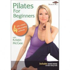 Join celebrity trainer Kristin McGee as she introduces you to the benefits of Pilates. Focus on core strength, flexibility, alignment and sculpt as you learn the precise techniques of this workout system. Losing Weight Tips, Weight Loss Goals, Weight Loss Program, Healthy Weight Loss, How To Lose Weight Fast, Reduce Weight, Weight Gain, Body Weight, Lose 10 Pounds In A Week