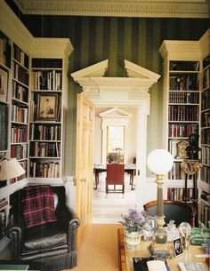 Lovely library and office in an 18th century english country home british style bonanza fandeluxe Gallery
