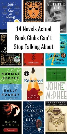 14 Novels Actual Book Clubs Can't Stop Talking About is part of Book club books - Featuring the biggest books of the fall, as well as old favorites! Best Books To Read, I Love Books, Great Books, Best Book Club Books, Good Books To Read, Ya Books, Book Suggestions, Book Recommendations, Book Club Reads