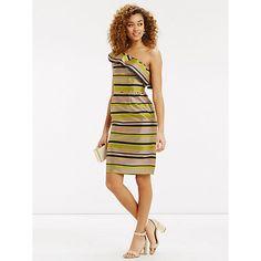 70fff01e8920f4 Buy Oasis Striped Ruffle Dress