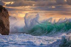 Rough sea No. 10 by gioallie