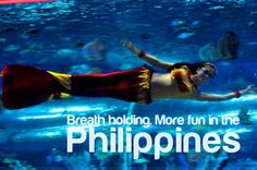 BREATH HOLDING. More FUN in the Philippines!