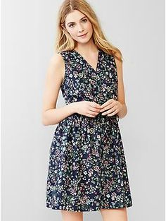 Gap floral fit & flare shirtdress, the best shop of this summer.