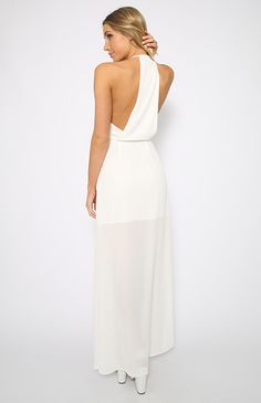 Beauty Queen Dress - White | Clothes | Peppermayo
