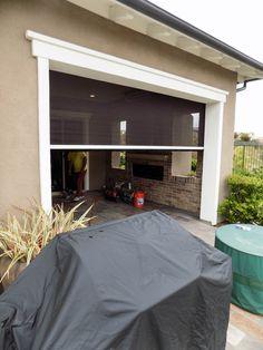 Residential Motorized Power Screens Patios Gallery So Cal | Motorized Patio  Sun Screens | Pinterest | Yorba Linda California, Yorba Linda And Patios