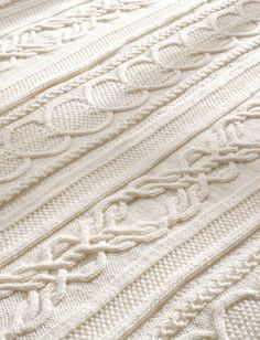 Yarnspirations.com - Bernat Gift of Love Cable Afghan  | Yarnspirations