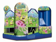Find Sponge Bob Square Pants Combo 5 In 1 Combo? Yes, Get What You Want From Here, Higher quality, Lower price, Fast delivery, Safe Transactions, All kinds of inflatable products for sale - East Inflatables UK