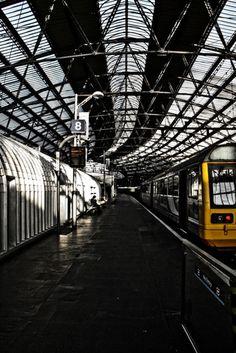 Train at platform. Street Photography, Platform, Train, Wedge