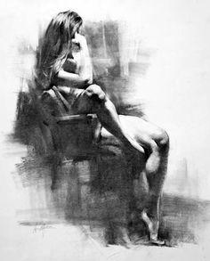 Figure drawing by Henry Yan.