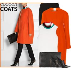 """""""Hot Trend: Cocoon Coats"""" by ecem1 on Polyvore"""