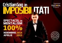 Castiga o invitatie VIP la spectacolul lui Cristian Gog in Brasov! Vip, Blog, Movie Posters, Movies, 2016 Movies, Film Poster, Films, Popcorn Posters, Blogging