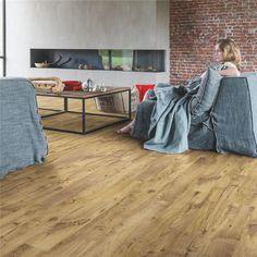 BACL40029   Gaštan vintage prírodný   Oficiálna webová stránka Quick-Step Laminate Flooring Colors, Types Of Wood Flooring, Plank Flooring, Quickstep Laminate, Contemporary Country Home, Design Rustique, Luxury Vinyl Flooring, Room Dimensions, Loft Spaces