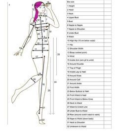 Measurement Guide & Sizing -