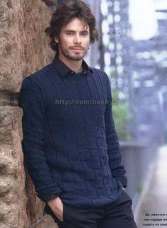 Классический мужской пуловер Maglione Cardigan e76fb337b1cc