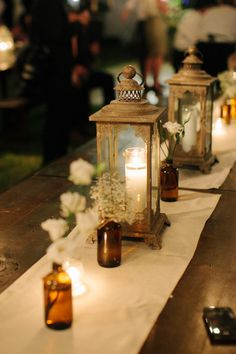 Vintage wedding romantic shabby chic 24 Ideas for 2019 Romantic Shabby Chic, Shabby Chic Fall, Vintage Shabby Chic, Shabby Chic Homes, Shabby Chic Decor, Vintage Style, Wedding Decor, Vintage Wedding Centerpieces, Candle Centerpieces