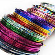 24PCS Mixs colore del nastro della striatura ... – EUR € 4.12