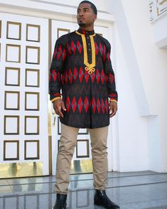 5 Top African Fashions for Men – Designer Fashion Tips African Attire, African Wear, African Inspired Clothing, Afrocentric Clothing, African Traditional Dresses, Mens Fashion Wear, Classy Men, African Men Fashion, Urban Fashion