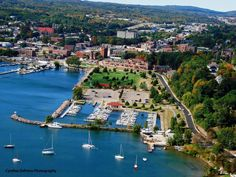 Marquette, MI the home of Northern Michigan University where I received my bachelor's degree (BFA) and then started my career.