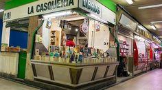 La extraña librería en una casquería de Madrid