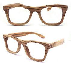 Lentes de madera