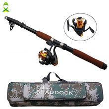 Fiberglass Telescope Baitcasting Fishing Rod And Reel Fly Fishing Casting Spinning Fishing Rods And Waterproof Bag Combo balikcilik trout fishing * AliExpress Affiliate's Pin. Find out more by clicking the VISIT button
