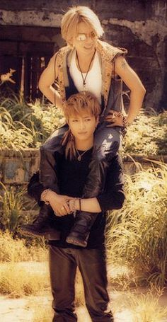 Hyde and Gackt!