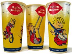 Dairy Queen Dennis the Menace Cups