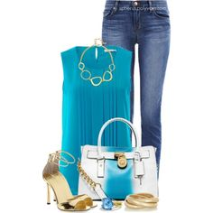 Cerulean, created by spherus on Polyvore