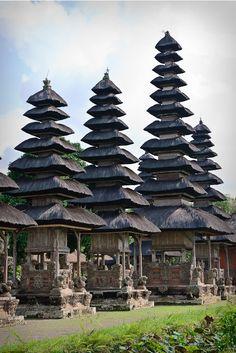 Pura Taman Ayun at Mengwi, Tabanan - Bali