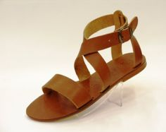 New Elegant Leather Sandals Curtido, Leather Sandals, Beautiful Outfits, Favorite Color, Greek, Etsy, Accessories, Shoes, Style