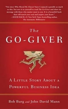 The Go-Giver tells the story of an ambitious young man named Joe who yearns for success. Joe is a true go-getter, though sometimes he feels as if the harder and faster he works, the further away his goals seem to be. And so one day, desperate to land a key sale at the end of a bad quarter, he seeks advice from the enigmatic Pindar, a legendary consultant referred to by his many devotees simply as the Chairman.