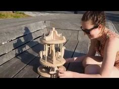 Wooden Carousel IPD Industrial Design 2015 - YouTube