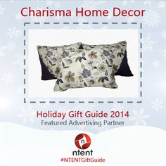 For The Interior Decorator Flower Gray Accent Pillow Set By Charisma