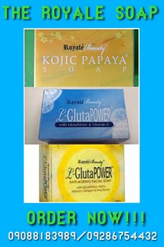 kojic soap-lighten skin L-glutha soap- removes dark spot Anti-aeging soap-reduce line and wringles  for order contact me +63 9088183989/email me@dgsosa1229@gmail.com