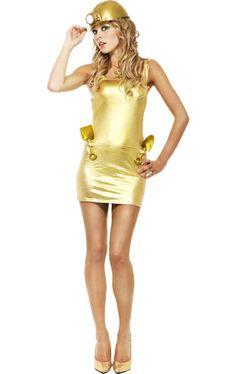 Gold Digger costume, this is what I want to be first Halloween