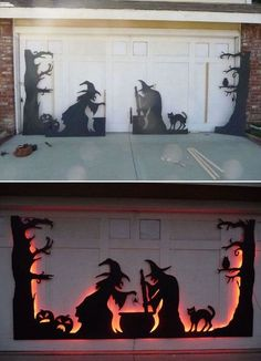 Fancy Halloween Decoration Ideas For This Season 09 – Home Design Scary Halloween Decorations, Halloween Home Decor, Outdoor Halloween, Halloween Season, Halloween House, Spooky Halloween, Holidays Halloween, Vintage Halloween, Halloween Crafts