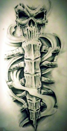 shin tattoo design by karlinoboy.deviantart.com on @DeviantArt