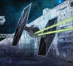 TIE Fighter - Star Wars - Blake Henriksen